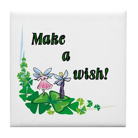 Make a Wish - Pixies Tile Coaster
