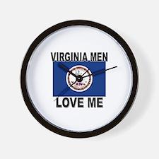 Virginia Love Me Wall Clock