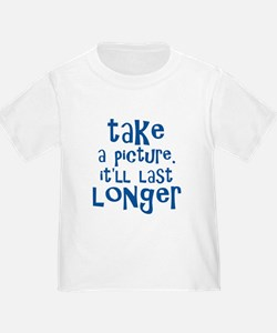 Take a Picture - Blue T