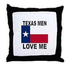 Texas Love Me Throw Pillow