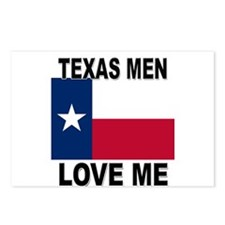 Texas Love Me Postcards (Package of 8)