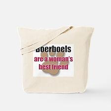 Boerboels woman's best friend Tote Bag