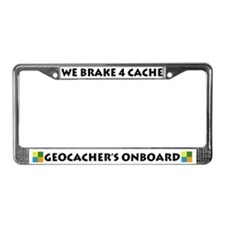 Brake 4 Cache License Plate Frame