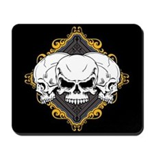 Skulls in Frame Mousepad