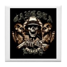 Gangsta Love Tile Coaster
