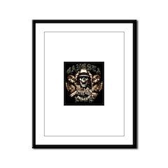 Gangsta Love Framed Panel Print