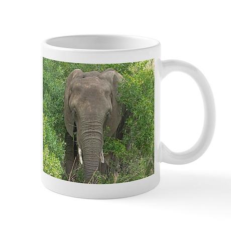Elephant in Bush Mug
