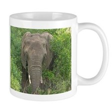 Elephant in Bush Mug
