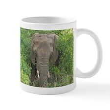 Elephant in Bush Small Mug
