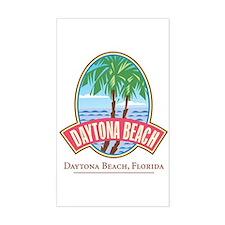 Retro Daytona Beach - Rectangle Decal