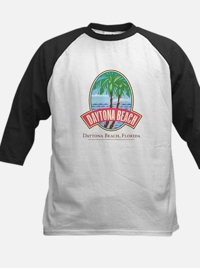 Retro Daytona Beach - Kids Baseball Jersey