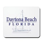 Daytona Beach Sailboat - Mousepad