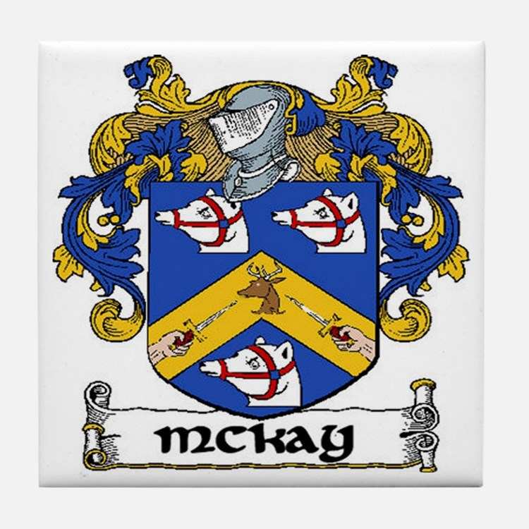 McKay Coat of Arms Ceramic Tile