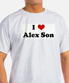 I Love Alex Son T-Shirt