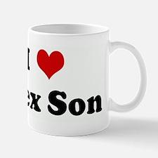 I Love Alex Son Mug
