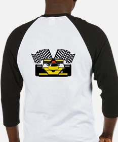 YELLOW RACECAR Baseball Jersey