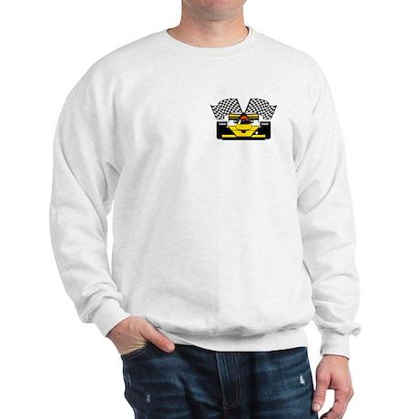 YELLOW RACE CAR Sweatshirt