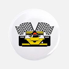 "YELLOW RACECAR 3.5"" Button (100 pack)"