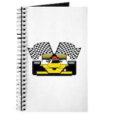 YELLOW RACE CAR Journal