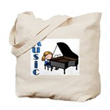 Piano Canvas Bags