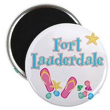 Ft Lauderdale Flip Flops - Magnet