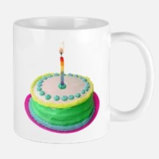 Colored Cake Mug