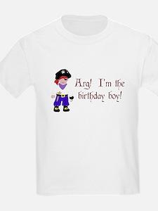 Pirate Birthday Boy T-Shirt