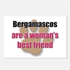 Bergamascos woman's best friend Postcards (Package