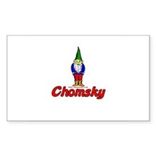Gnome Chomsky Rectangle Decal