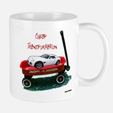 Cheap Transportation Mug