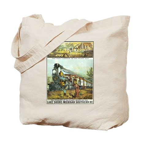 Flight of the Fast Mail Tote Bag