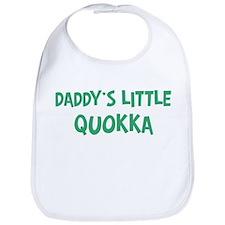 Daddys little Quokka Bib