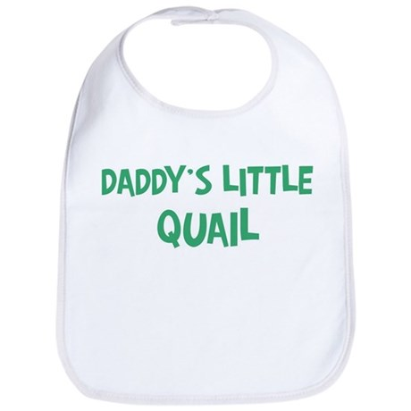 Daddys little Quail Bib