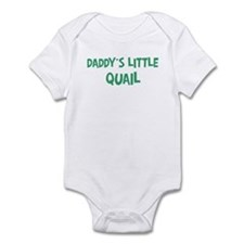 Daddys little Quail Onesie