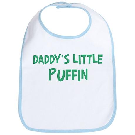 Daddys little Puffin Bib