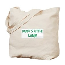 Daddys little Lamb Tote Bag