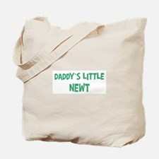 Daddys little Newt Tote Bag