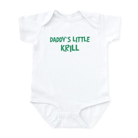 Daddys little Krill Infant Bodysuit