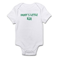 Daddys little Koi Infant Bodysuit