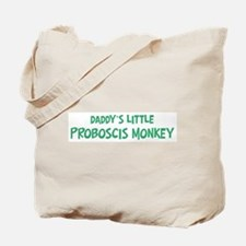 Daddys little Proboscis Monke Tote Bag