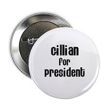 Gillian for President Button