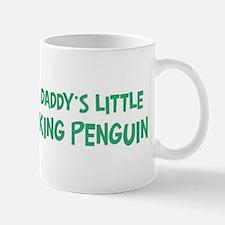 Daddys little King Penguin Mug