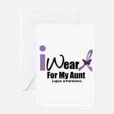 Lupus For Aunt Greeting Cards (Pk of 10)