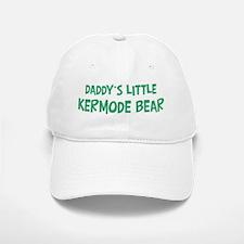 Daddys little Kermode Bear Baseball Baseball Cap