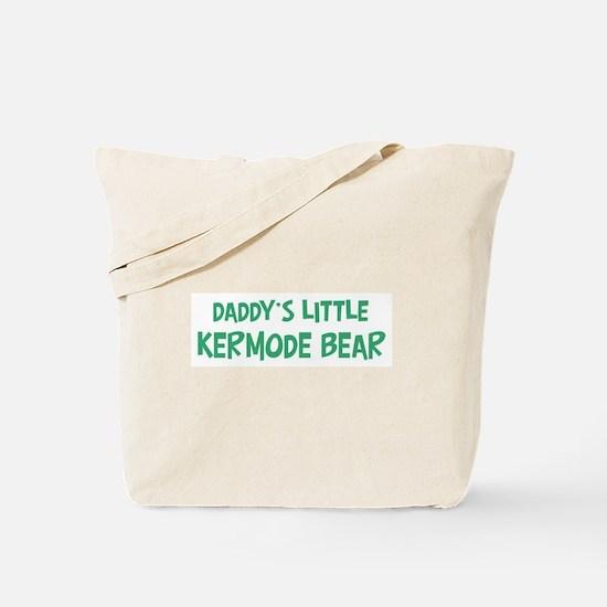 Daddys little Kermode Bear Tote Bag