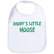 Daddys little Moose Bib