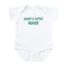 Daddys little Moose Infant Bodysuit