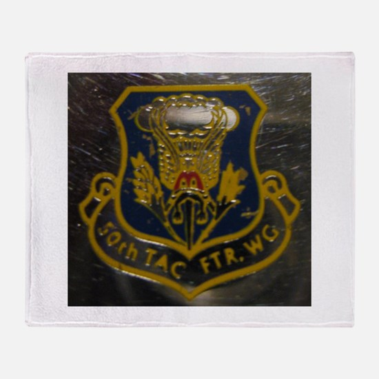 hahn air base, 50th TFW Throw Blanket