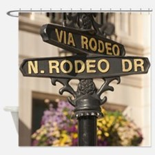N. RODEO DRIVE Shower Curtain