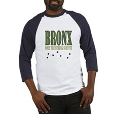 BRONX only the strong Baseball Jersey